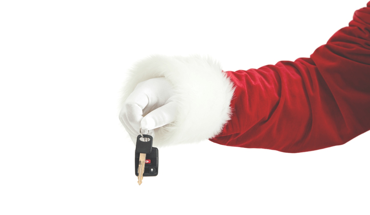 buying a car as a gift
